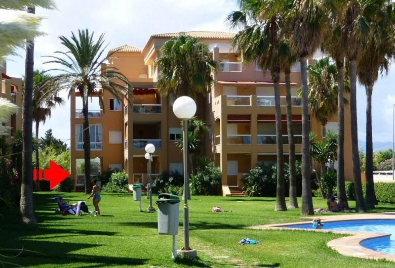Location de vacances - Appartement à Dénia - La Résidence >> Rez-de-Jardin
