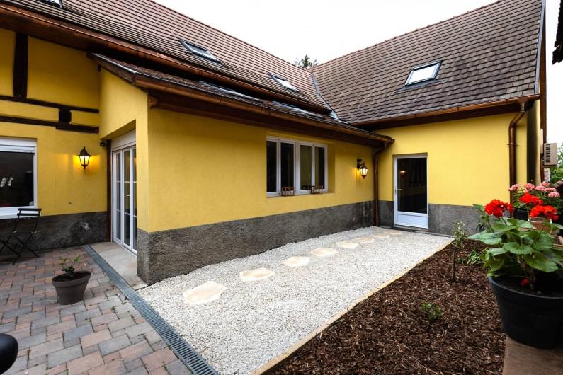 Location de vacances - Chambre d'hôtes à Bernardswiller - Jardin