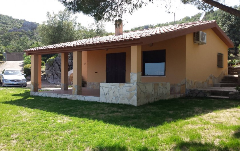 Location de vacances - Villa à Costa Rei - La villa coté Nord