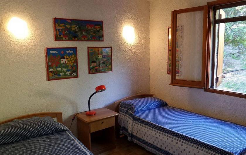 Location de vacances - Villa à Costa Rei - 2 lits simples