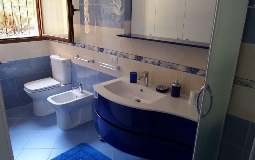 Location de vacances - Villa à Costa Rei - salle de bain n°1