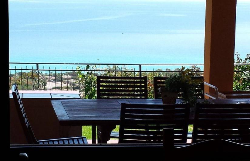 Location de vacances - Villa à Costa Rei - Vue imprenable  en relax