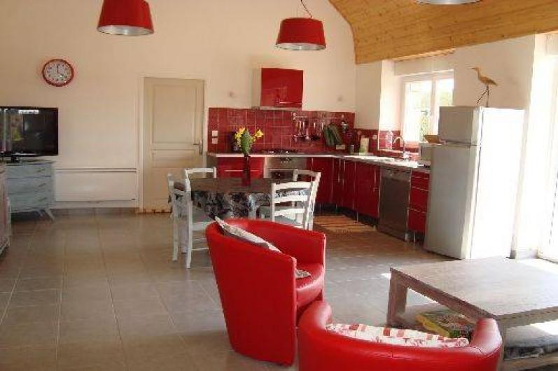 Location de vacances - Gîte à Brélès - Le coin cuisine.