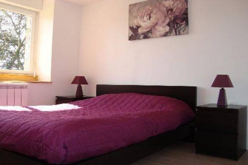 Location de vacances - Gîte à Brélès - La chambre mauve.