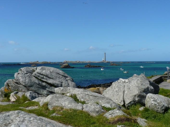 Location de vacances - Gîte à Brélès - Le phare de L'île Vierge à Plouguerneau.
