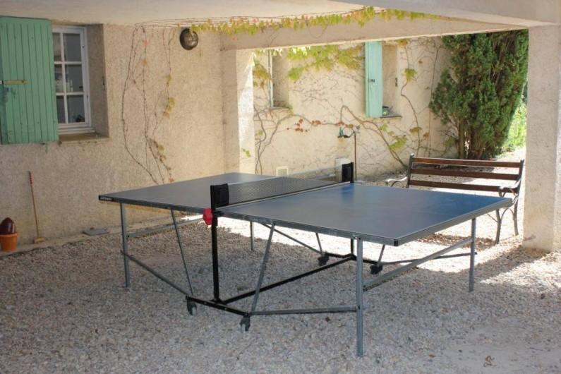 Location de vacances - Mas à Assas - on joue?