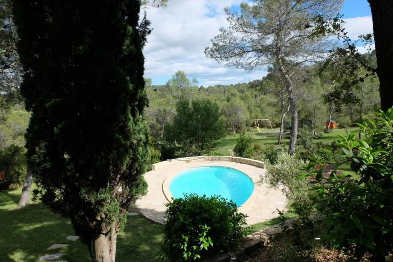 Location de vacances - Mas à Assas - Vue de la terrasse