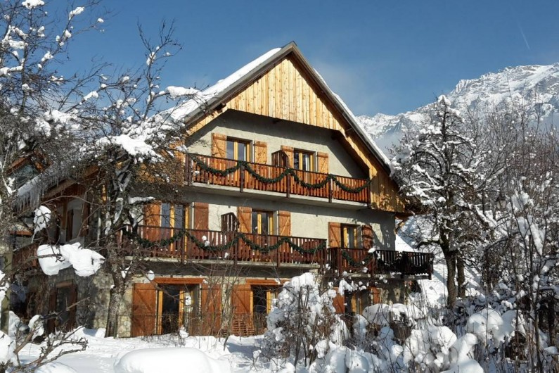 Location de vacances - Chalet à Vaujany - Chalet Solneige in winter