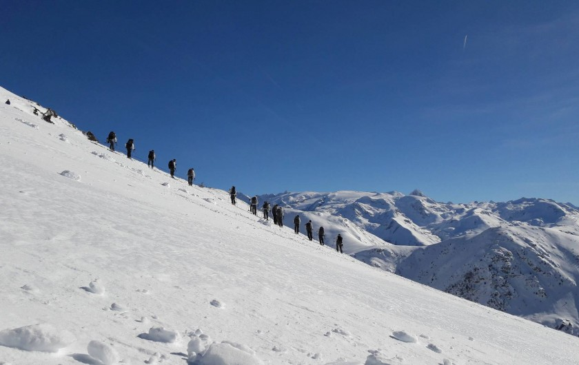 Location de vacances - Chalet à Vaujany - Beautiful ski slopes