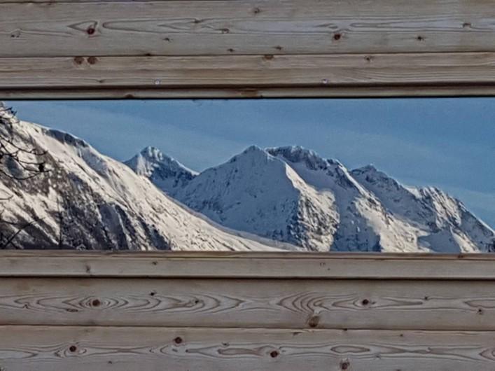 Location de vacances - Chalet à Vaujany - View sauna