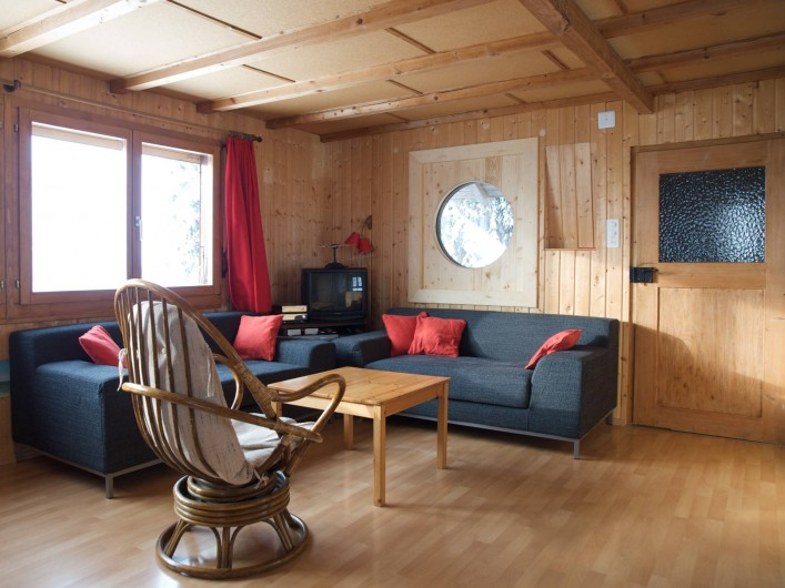 Location de vacances - Chalet à Fontaines - Salon