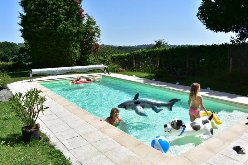 Location de vacances - Chambre d'hôtes à Saint-Martin-Cantalès - La piscine