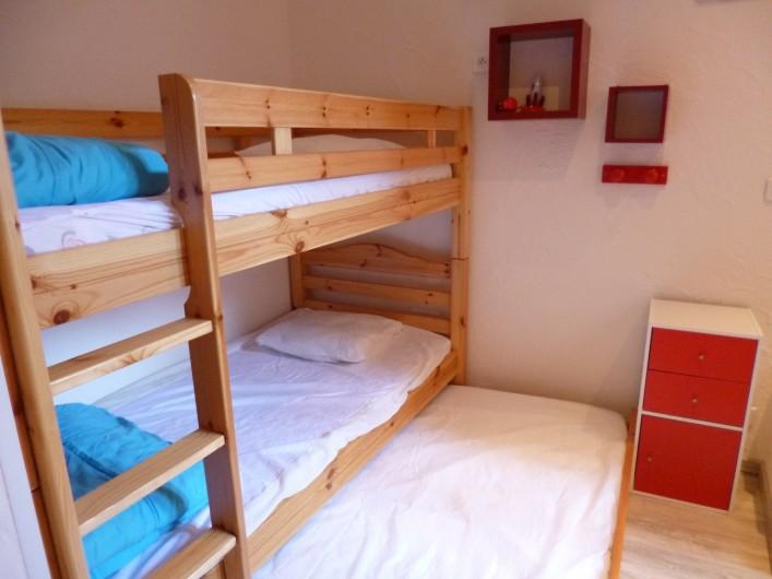 Location de vacances - Appartement à Berck - chambres 2 troisième lit en lit tiroir