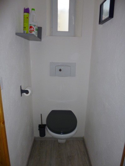 Location de vacances - Appartement à Berck - salle d'eau, douche italienne,  lavabo, radiateur sèche serviette et lave-linge