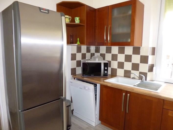 Location de vacances - Appartement à Berck - chambre 1 oreillers et couette fournis