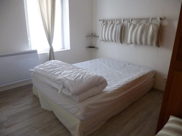 Location de vacances - Appartement à Berck - chambre 2 possibilité d'ajout lit Bébé