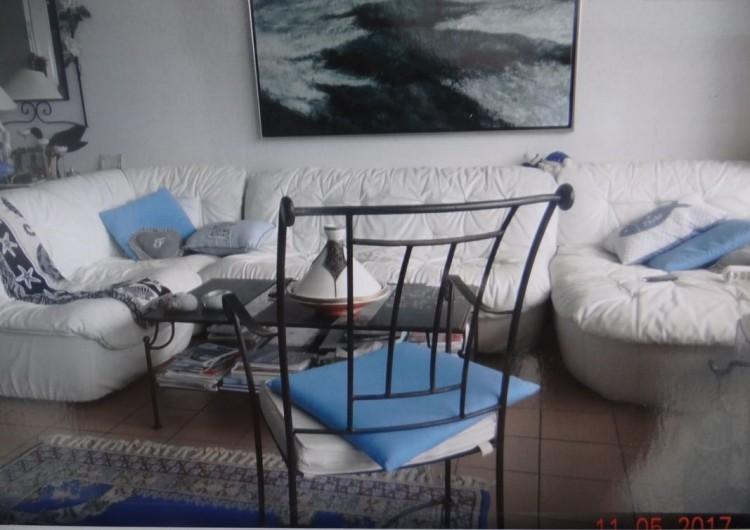 Location de vacances - Appartement à Fort-Mahon-Plage - Salon vue dunes, mer et forêt