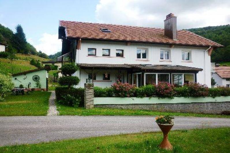 Location de vacances - Gîte à La Bresse - Ensemble Gîte et appartement du propriétaire