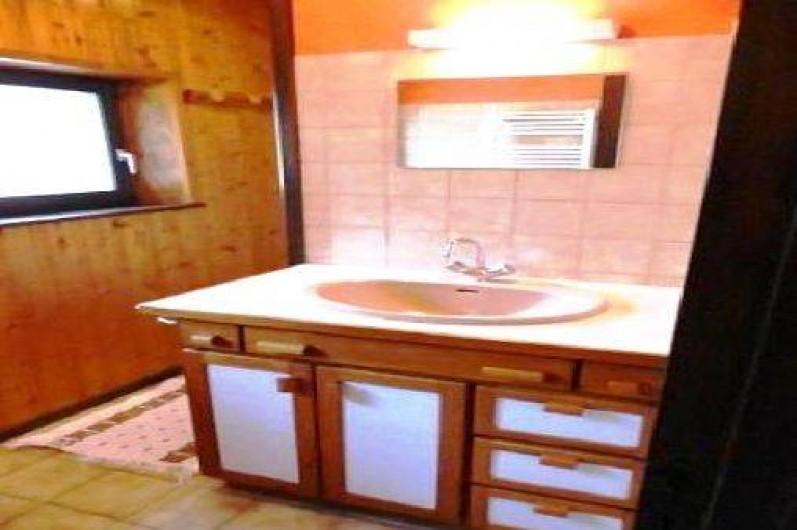 Location de vacances - Gîte à La Bresse - lavabo et douche