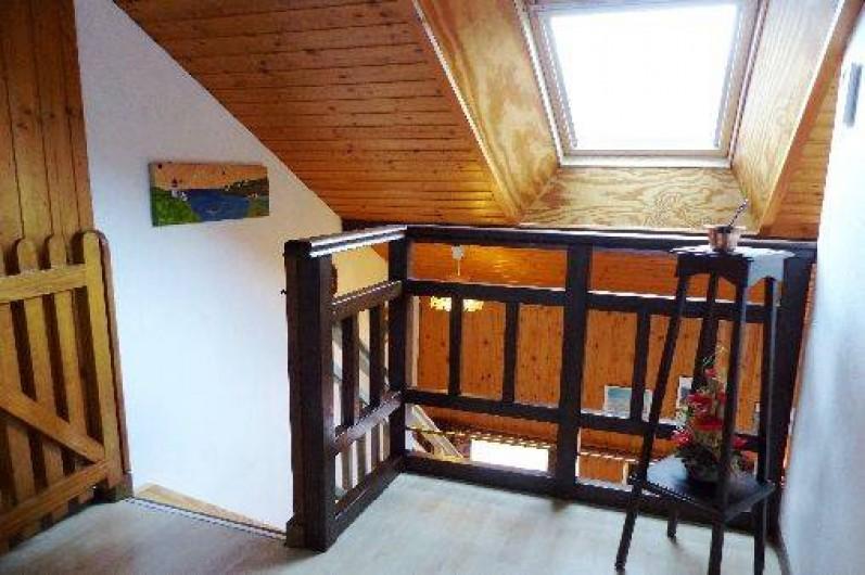 Location de vacances - Gîte à La Bresse - accès chambres à coucher