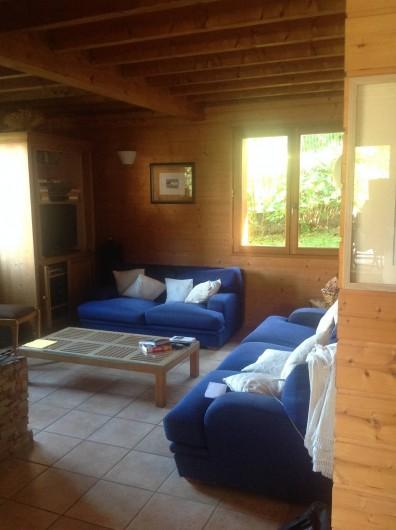 Location de vacances - Chalet à Theys - salon