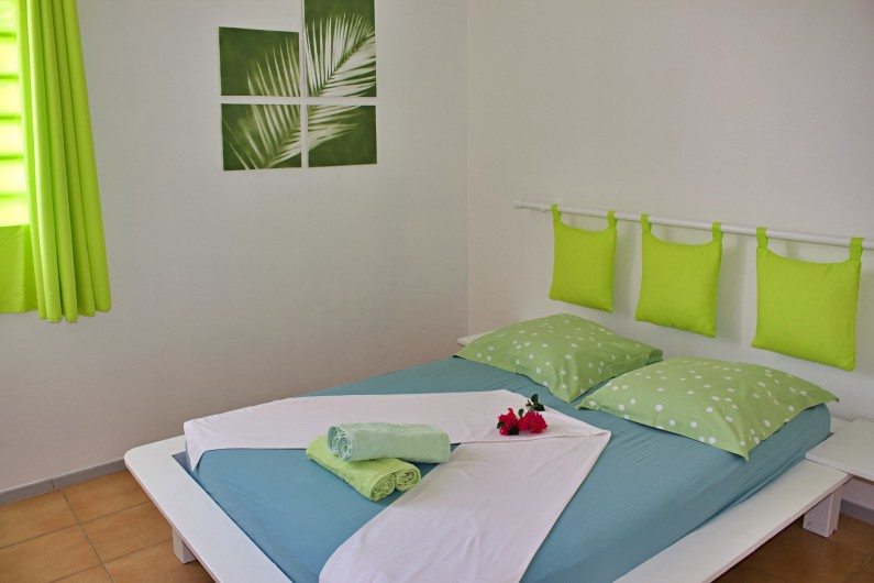 Location de vacances - Villa à Le Vauclin - Chambre N°2. F4 gauche