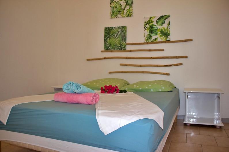 Location de vacances - Villa à Le Vauclin - Chambre N°3 .F4 gauche