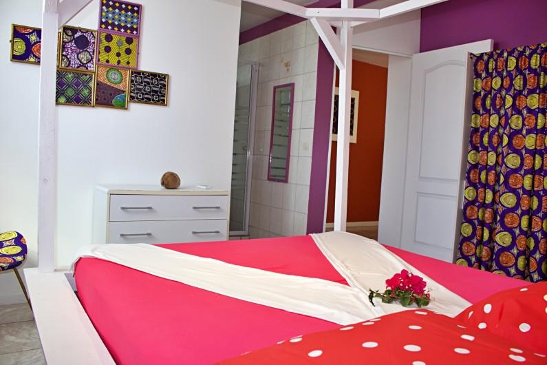 Location de vacances - Villa à Le Vauclin - Chambre F2 gauche