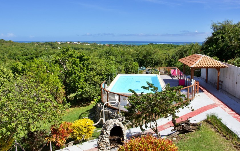 Location de vacances - Villa à Le Vauclin - Vue du balcon
