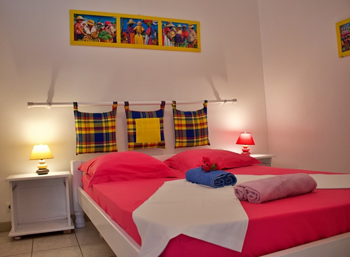 Location de vacances - Villa à Le Vauclin - Chambre N°2. F4 droite