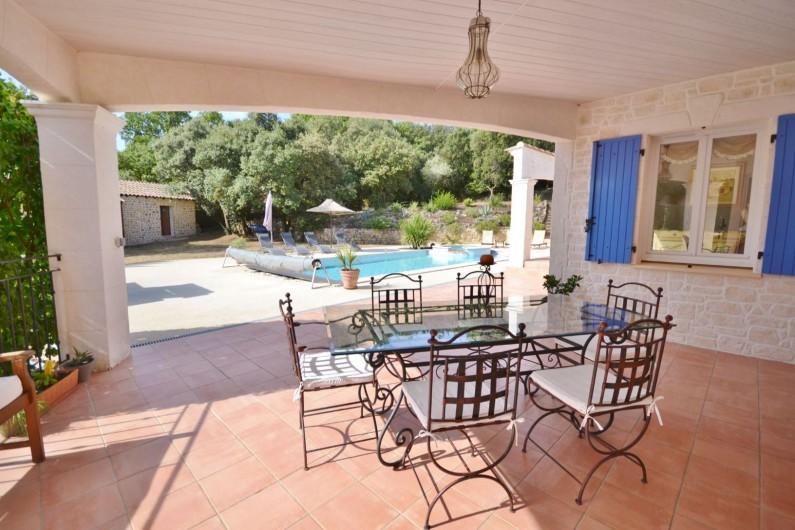 Location de vacances - Villa à Vézénobres