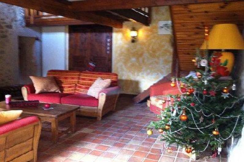 Location de vacances - Gîte à Francillon-sur-Roubion - Le salon