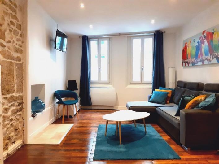Location de vacances - Appartement à Dijon - Pièce principale