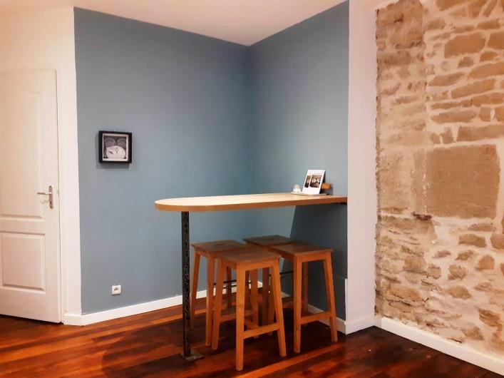 Location de vacances - Appartement à Dijon - Coin repas