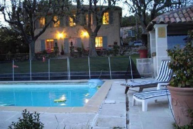 Location de vacances - Villa à Aix-en-Provence - Piscine 12 X 5