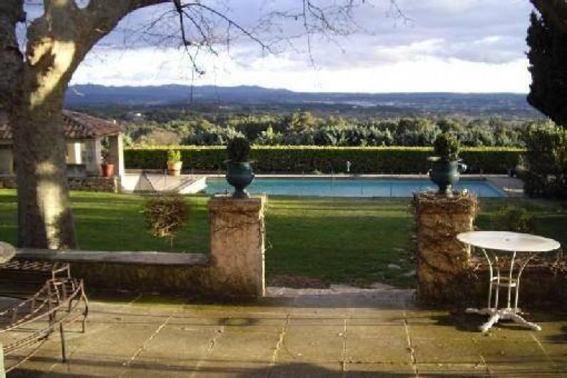 Location de vacances - Villa à Aix-en-Provence - Plein Sud , soleil de 8 à 20 h.