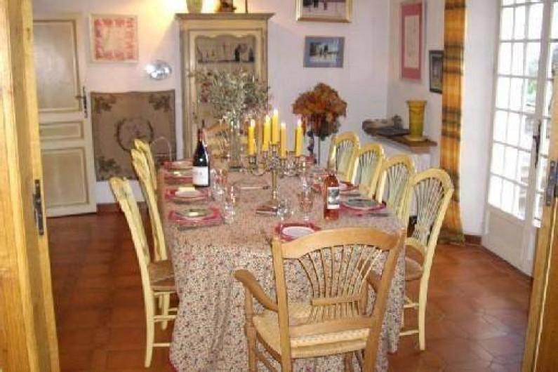 Location de vacances - Villa à Aix-en-Provence - S . à Manger