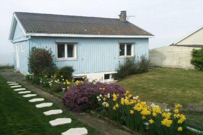 Location de vacances - Maison - Villa à Quiberville - Façade arrivée à la maison