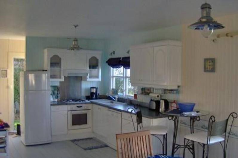 Location de vacances - Maison - Villa à Quiberville - Cuisine aménagée et équipée
