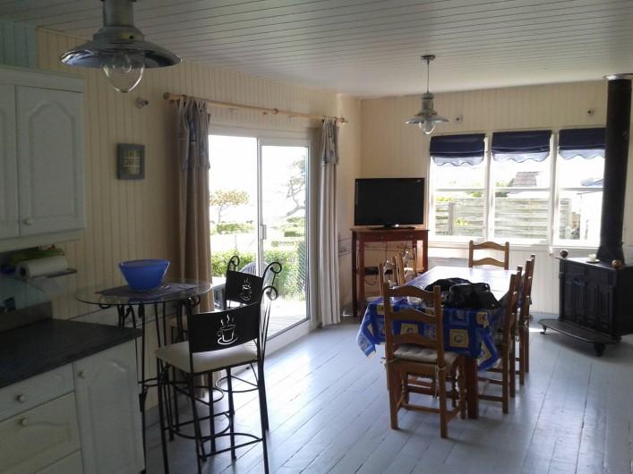 Location de vacances - Maison - Villa à Quiberville - Séjour