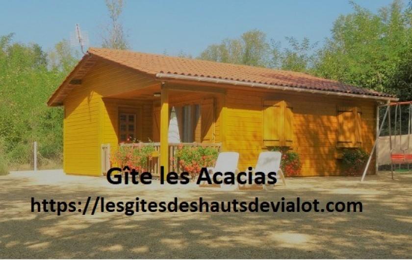 Location de vacances - Gîte à Auriac-du-Périgord - Gite les Acacias