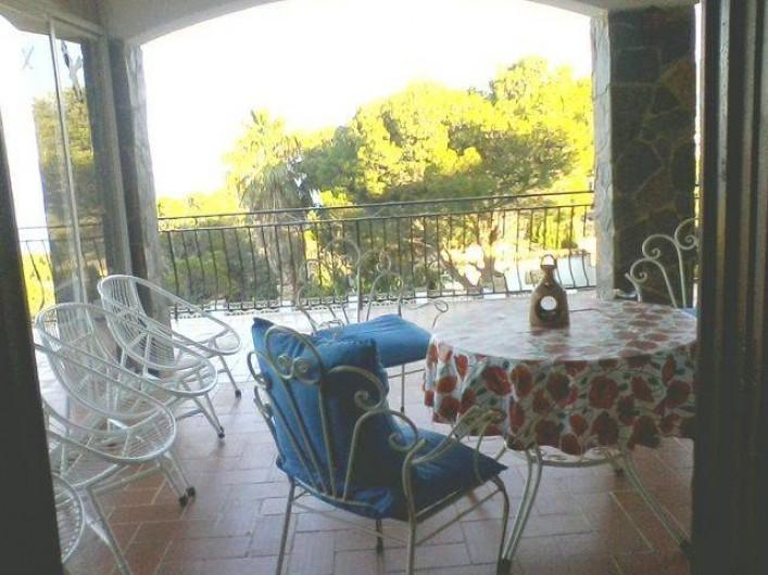 Location de vacances - Appartement à Llançà - terrasse