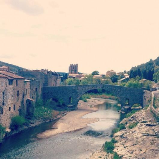Location de vacances - Appartement à Lagrasse - Le Pont Vieux a Lagrasse