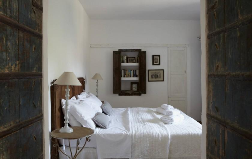 Location de vacances - Appartement à Lagrasse - Chambre