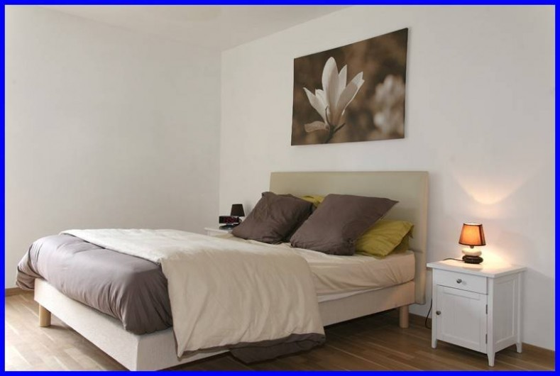 Location de vacances - Gîte à Plonéour-Lanvern - Chambre au rez de chaussée