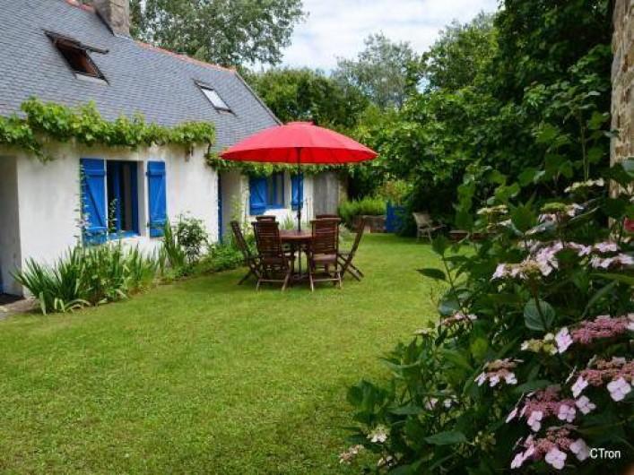 Location de vacances - Maison - Villa à Saint-Jean-Trolimon - Cour intérieure