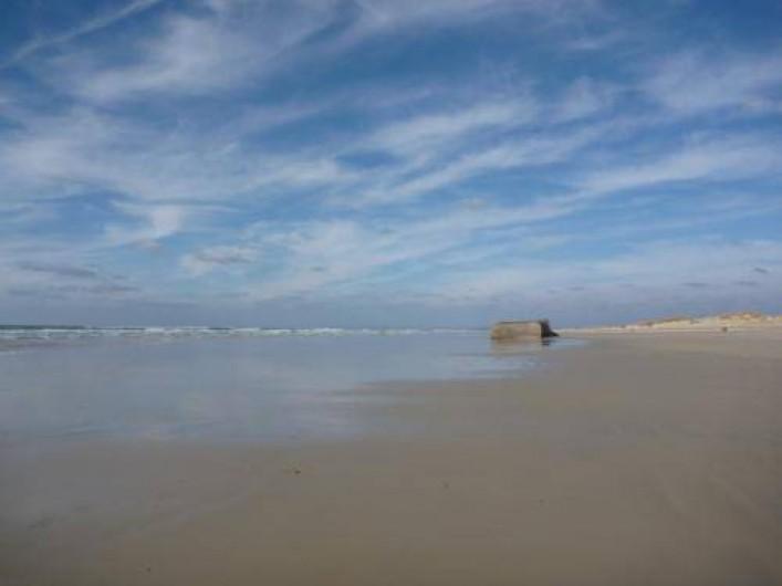 Location de vacances - Maison - Villa à Saint-Jean-Trolimon - Plage de 14km. sable blanc et fin