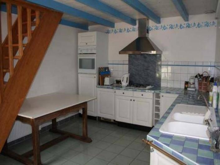 Location de vacances - Maison - Villa à Saint-Jean-Trolimon - Cuisine intégrée 16m2
