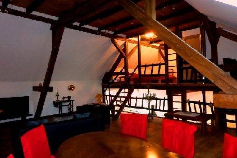 Location de vacances - Gîte à Olwisheim - Vue sur mezzanine