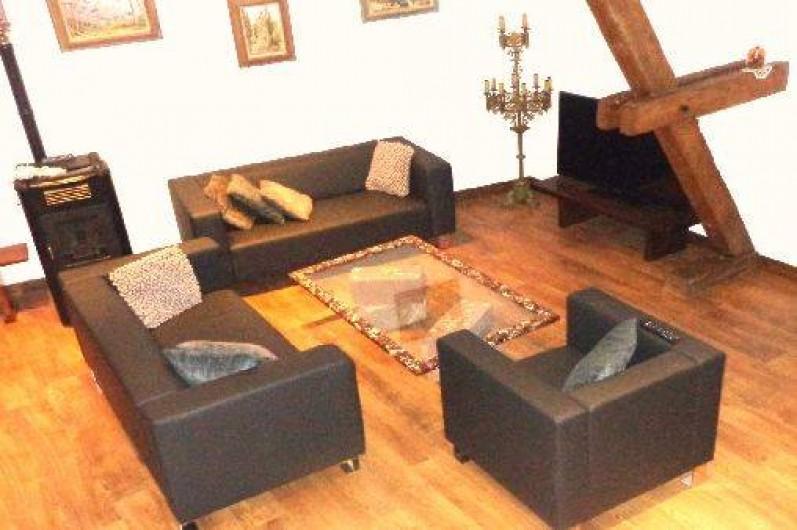 Location de vacances - Gîte à Olwisheim - Salon depuis mezzanine
